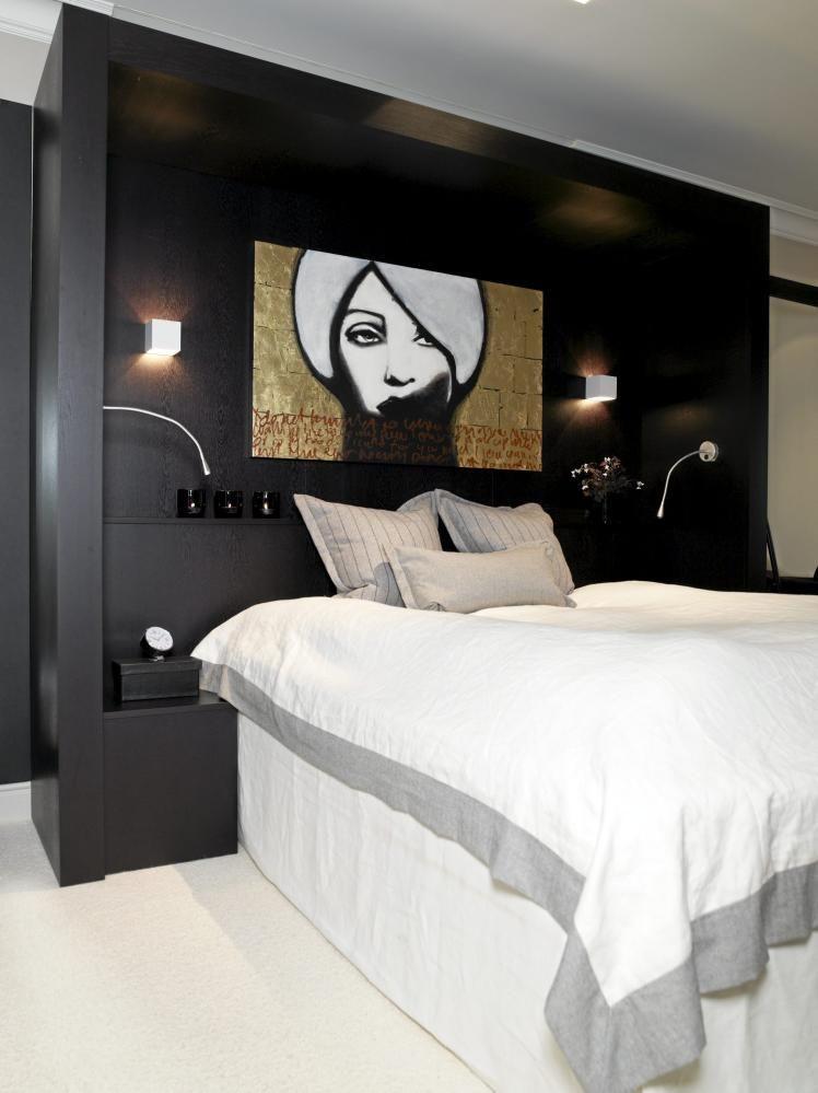 Bilder over seng