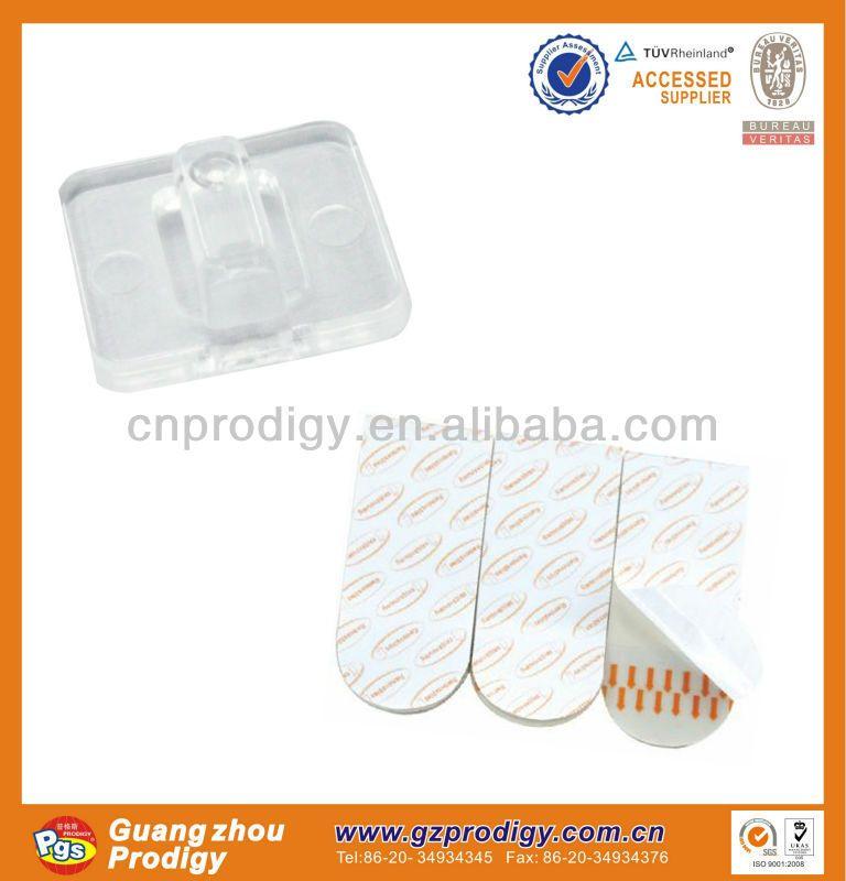 Self-adhesive Cable Wire Clip/ Plastic Clip Hooks - Buy Plastic Clip ...