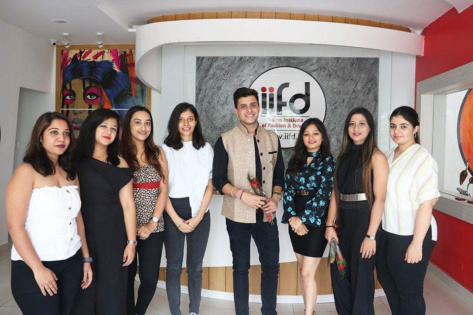 Rj Manav At Iifd Campus Mohali Career Fashion Fashion Fashion Institute