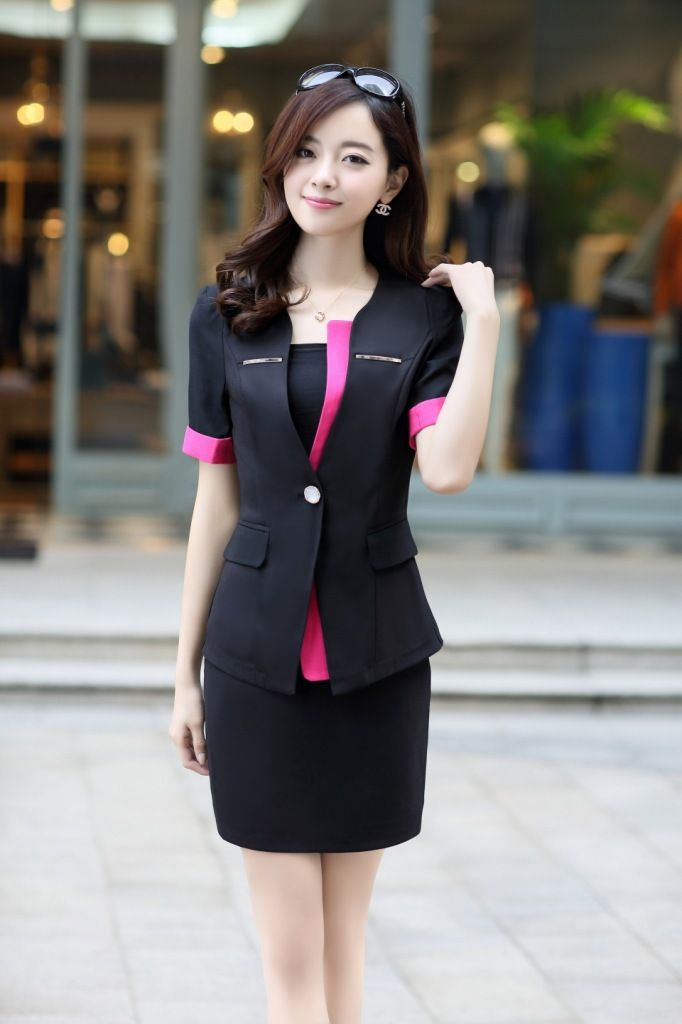 Women suit for work work uniform suits pinterest for Office uniform design 2014