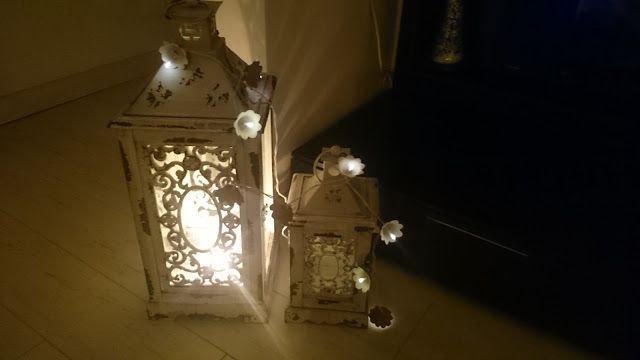mayninetes crafty life: Guirnalda de luces con huevera.