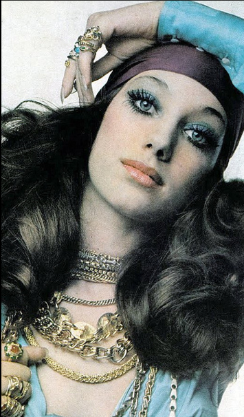Marisa Berenson for Vogue, 1969. Photo by Gian Paolo Barbieri.