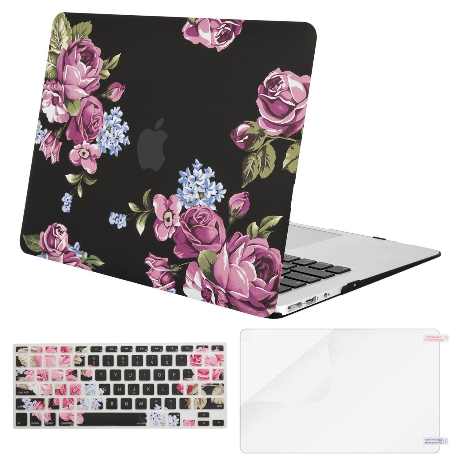best website 5bde4 b1a16 Amazon.com: Mosiso Plastic Pattern Hard Case with Keyboard Cover ...