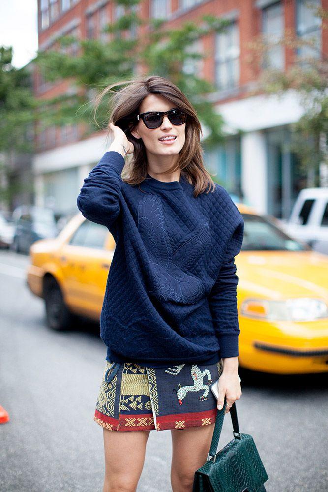 Repin Via: Eat.Sleep.Wear Skirt + Pullover #keylookforfall