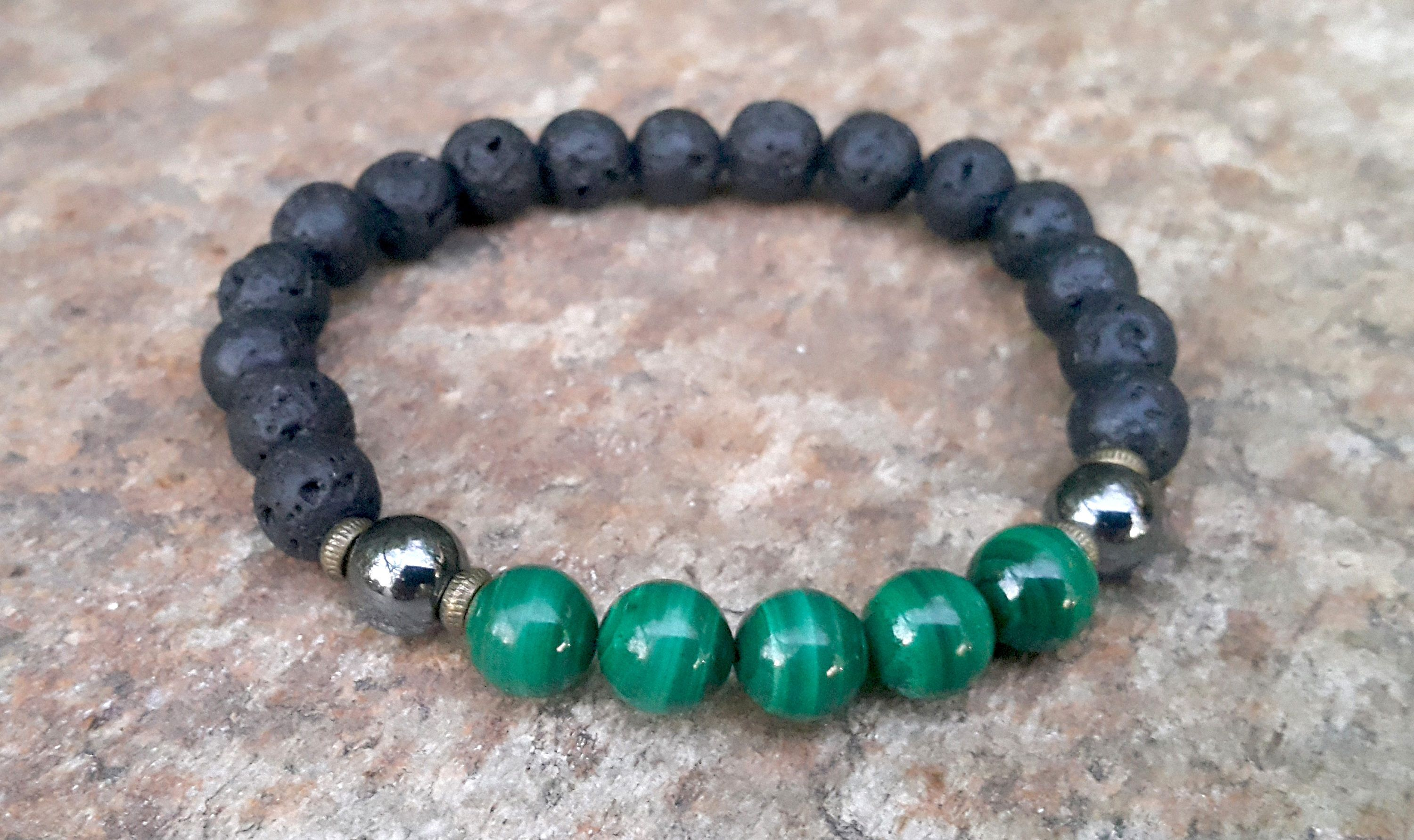 bohemian previous natural precious green bracelet aventurine stone next p le mens semi product beaded