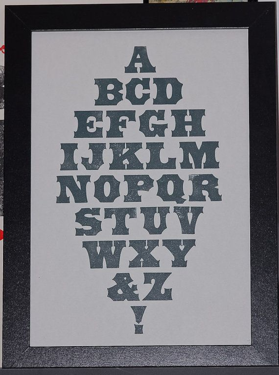 Poster Tuscan Page and Co par ampersandenpress sur Etsy, €10,00