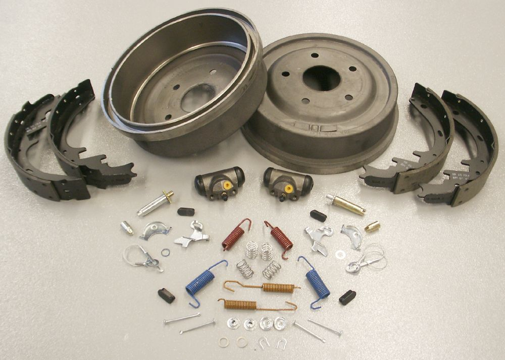 1980 1986 Ford Bronco And F Series Truck Rear Drum Brake Rebuild Kit Large Bearing Axle Ford Bronco Bronco Drum Brake