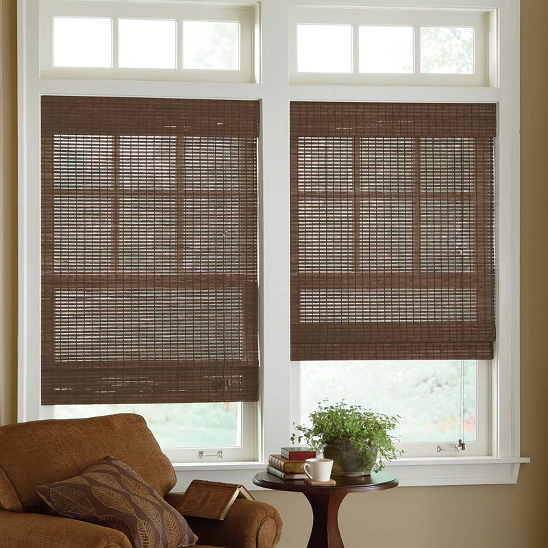 jcpenney bali blinds jcpenney home custom bamboo woven wood roman shade products