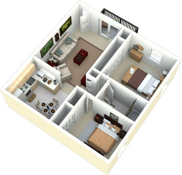 Bennington Heights Apartments For Rent In Saint Louis Missouri Small House Design Plans Small House Design Two Bedroom House Design