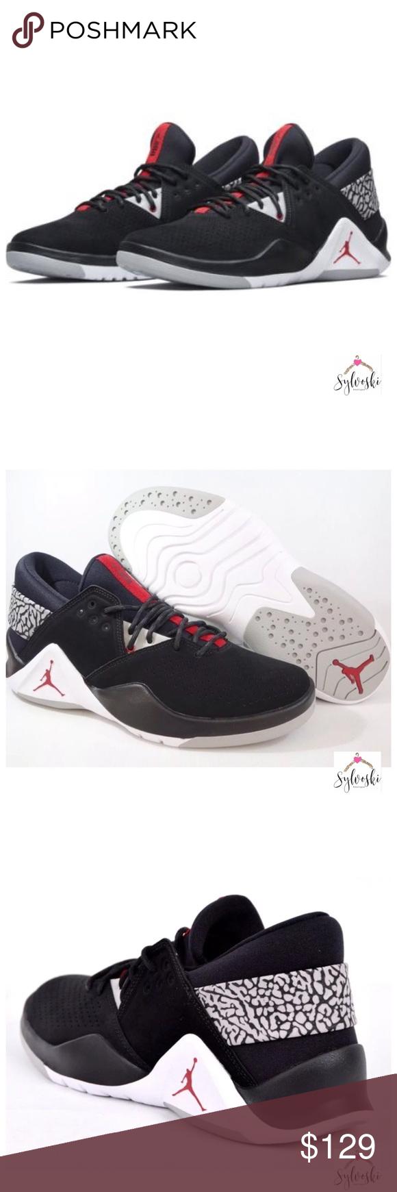 d8b1c5639390 Nike Jordan Flight Fresh PREM Low JORDAN FLIGHT FRESH PREM BLACK GYM RED-
