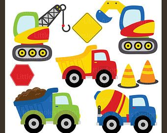 Popular Items For Dump Truck Clipart On Etsy Clip Art Boy Quilts Crafts