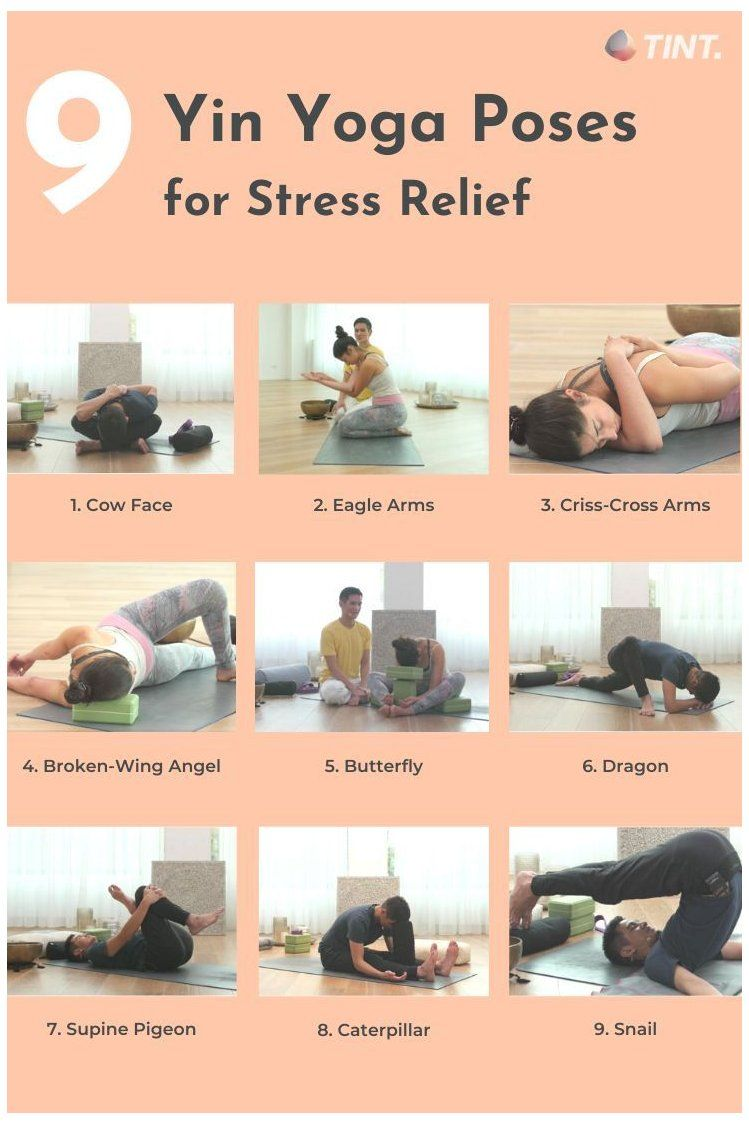 How Effective Is Yoga For Stress Relief Yin Yoga With Props Yinyogawithprops Approximately 80 To Yin Yoga Poses Yin Yoga Sequence Yoga For Stress Relief