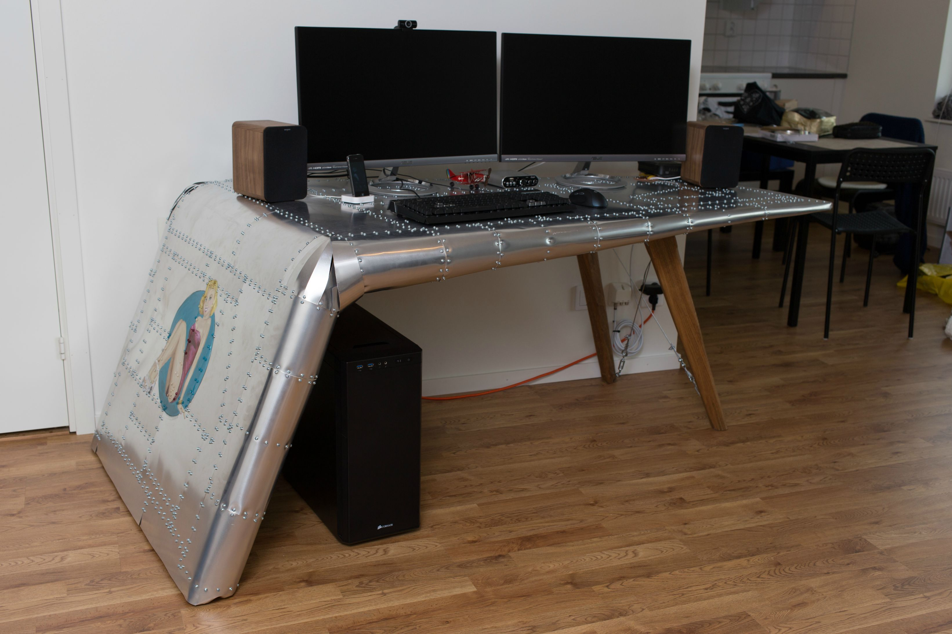 Aviation Themed Desk Part 2 Home
