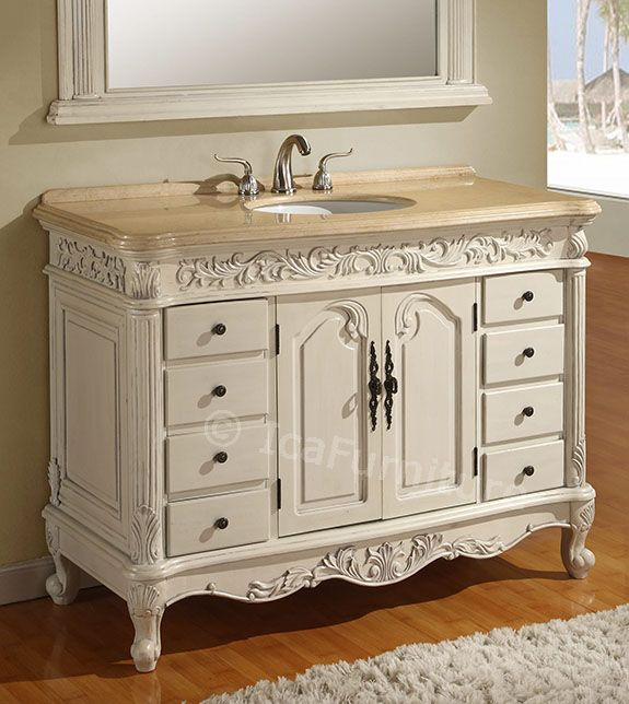 48 inch \u2013 Item 4348 \u2013 Eight Drawers, One Shelf \u2013 Bathroom Storage