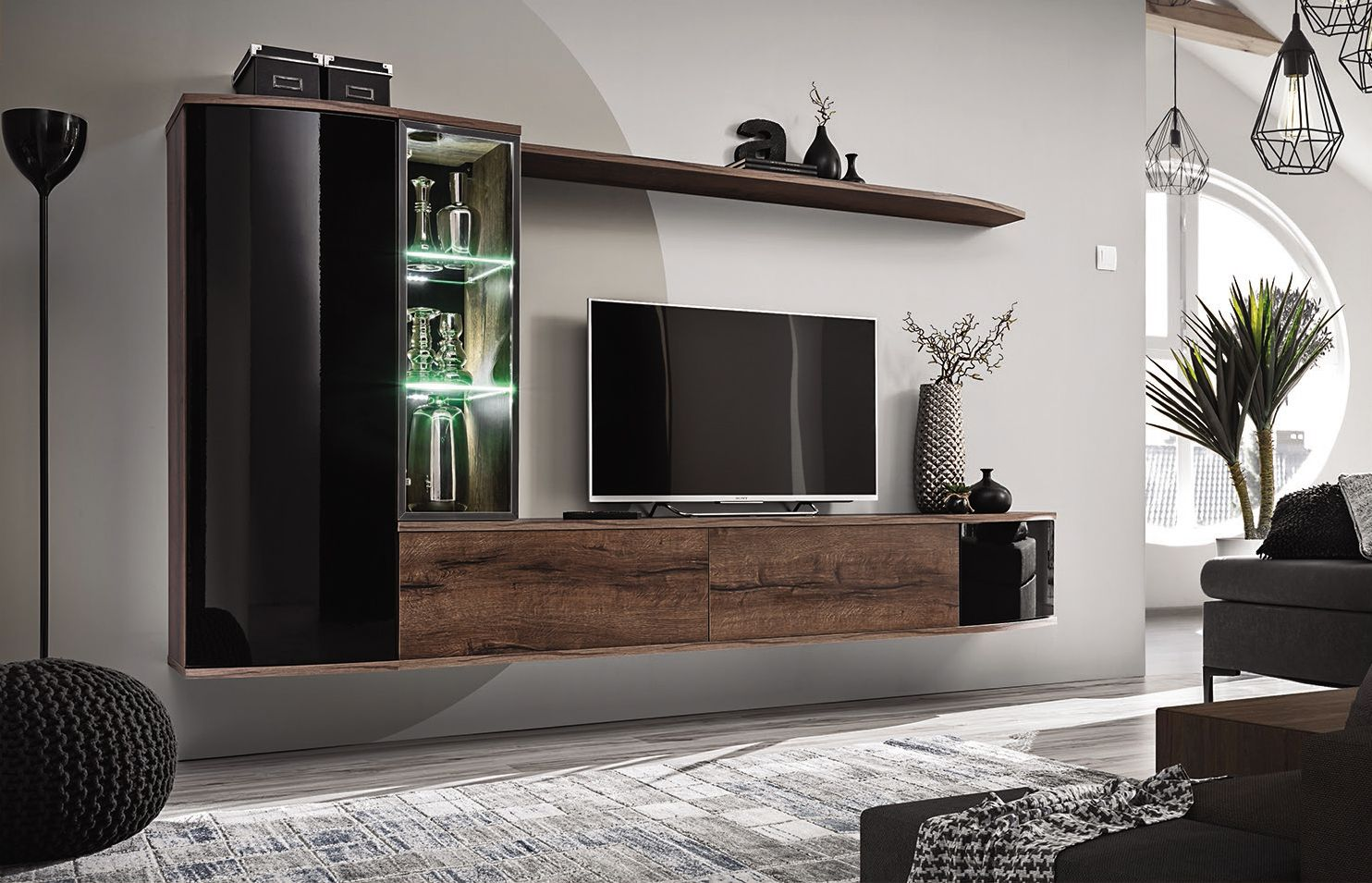 Goedkope Tv Meubels Wand Dressoir Zwevend Tv Zwevende Tv Kast Hoogwaardige Tv Wand In 2021 Living Room Wall Units Modern Tv Wall Units Entertainment Wall Units