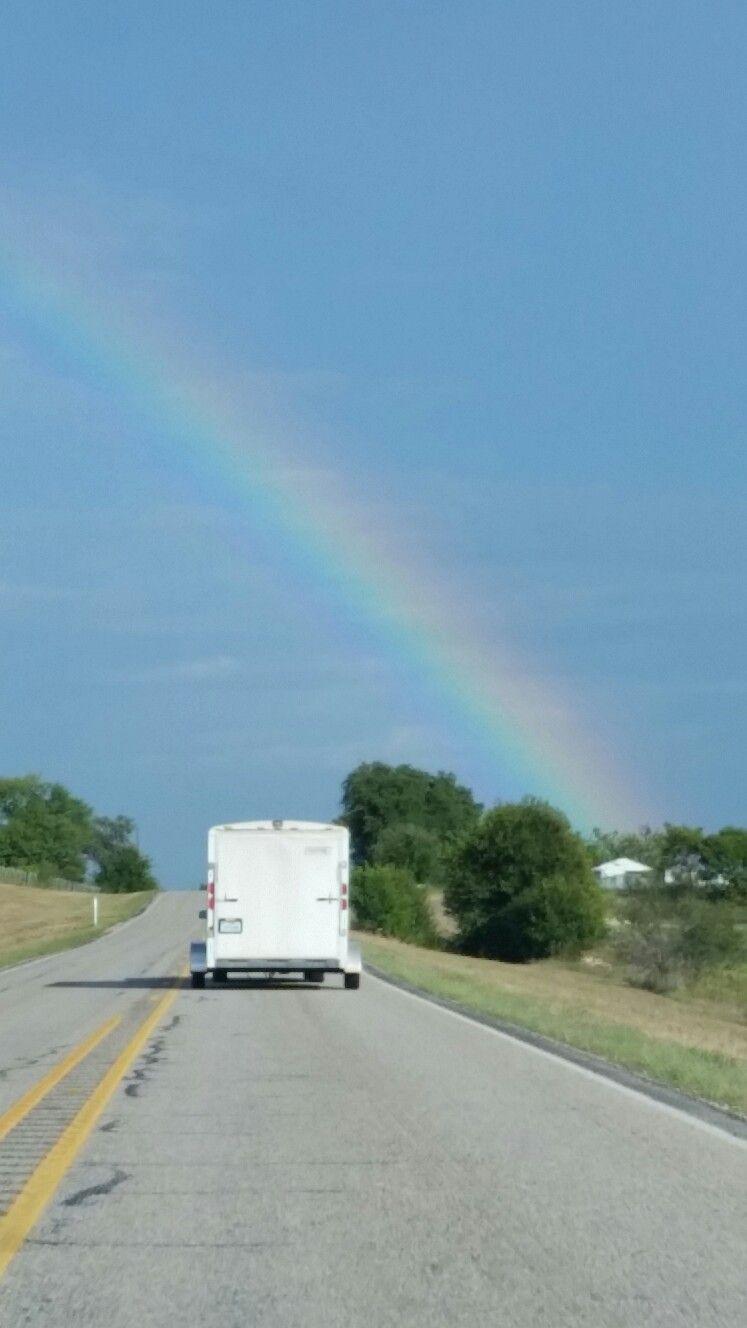 Rainbow near Dublin, Texas 2016