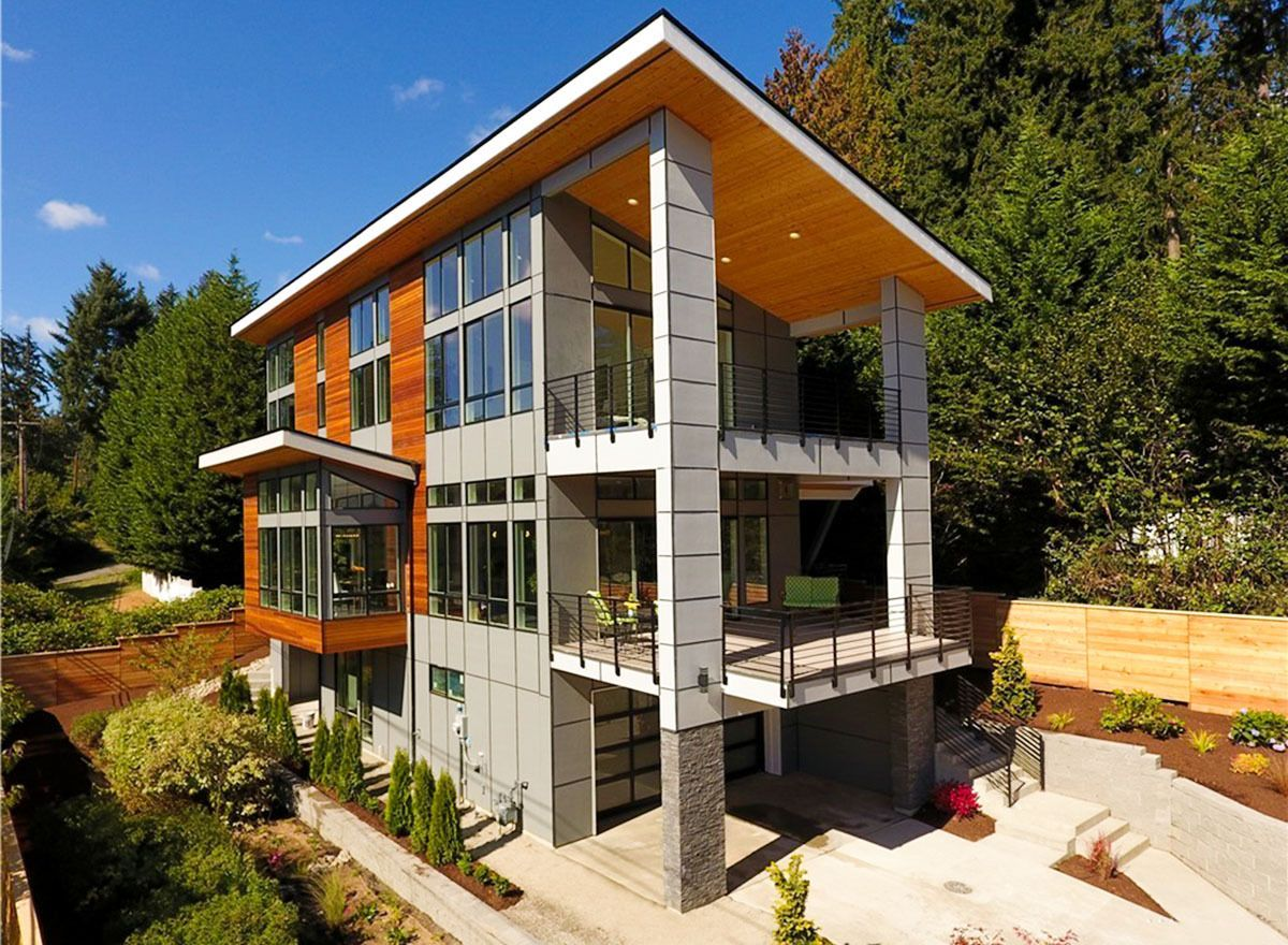 Plan 23791JD: Stunning Modern House Plan with Great ...