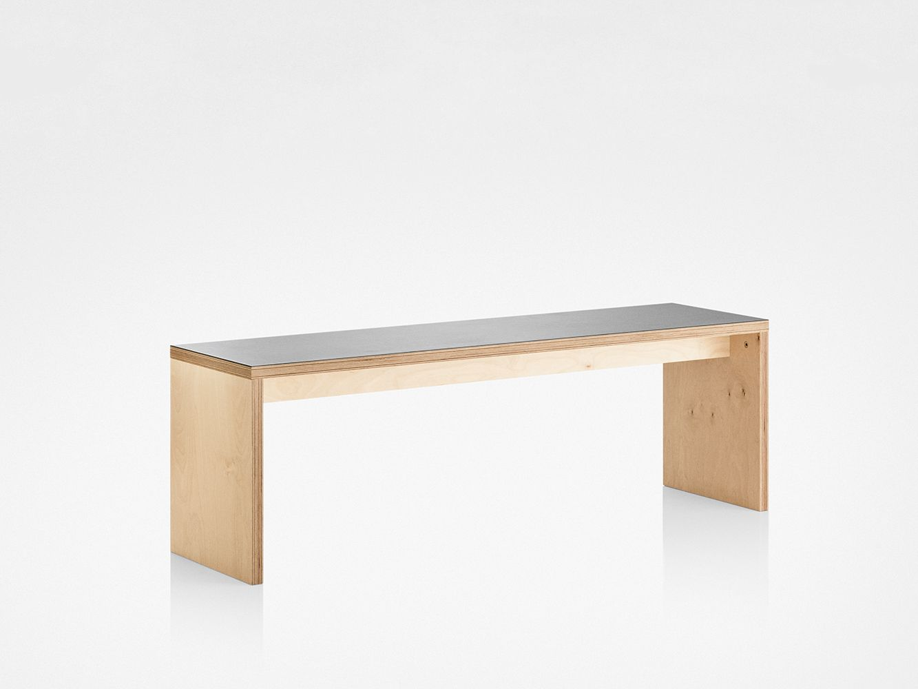 With Legs Like I Waaaant Plywood Bench Gallery Image Contemporary Bench Furniture Log Furniture
