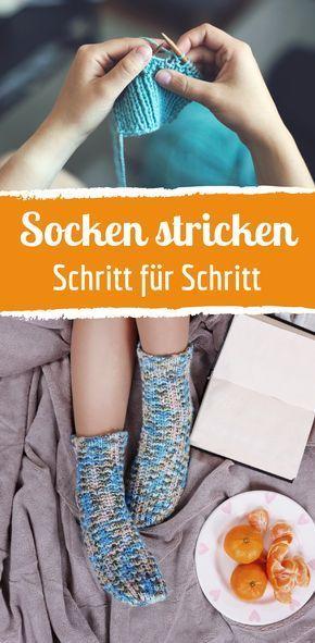 Socken stricken: So geht's ganz einfach #howtomakeabowwithribbon
