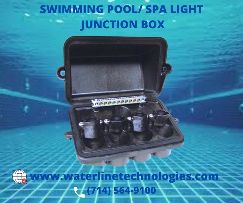 Junction Box For Swimming Pool And Spa Lights Spa Pool Swimming Pool Lights Pool Supplies