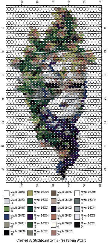 Изделия из бисера | Perler Bead Patterns | Pinterest