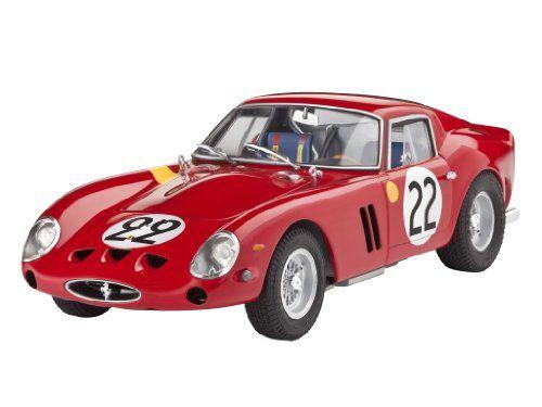 Revell Of Germany Ferrari 250 Gto Plastic Model Kit Revell Of Germany Plastic Model Kits Gto Model Kit