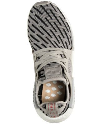4b9437452 adidas Women s Nmd XR1 Primeknit Casual Sneakers from Finish Line - Silver  9.5