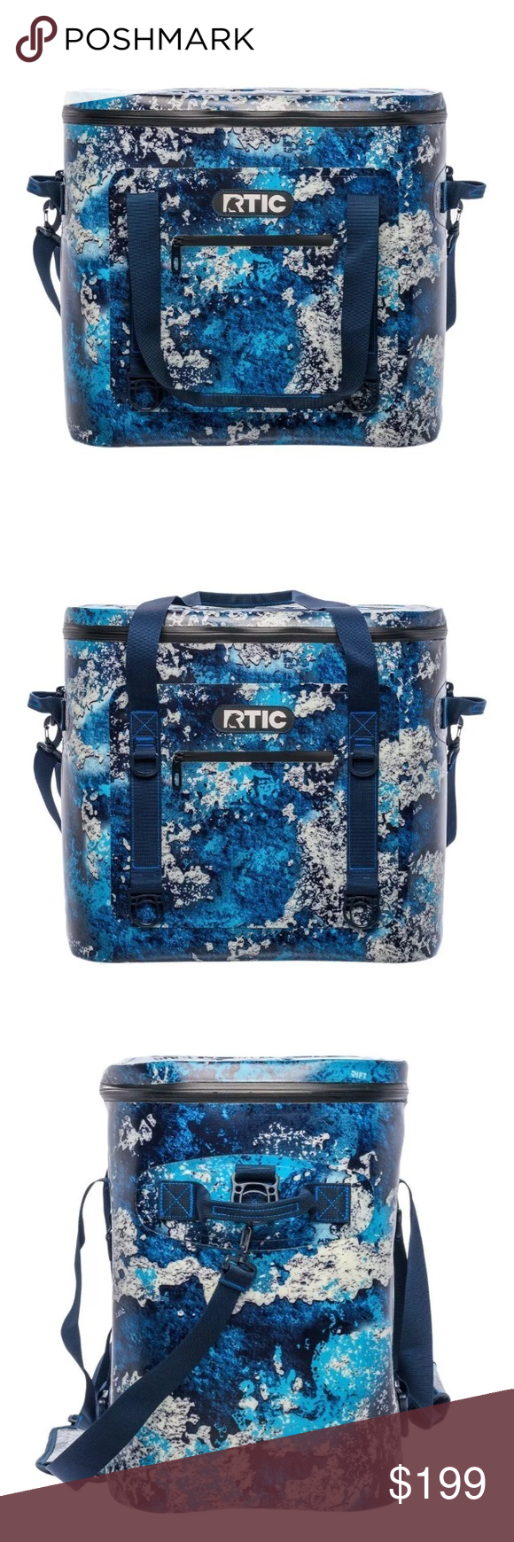 Rtic Softpack 30 Cooler Rift Blue Soft sided coolers