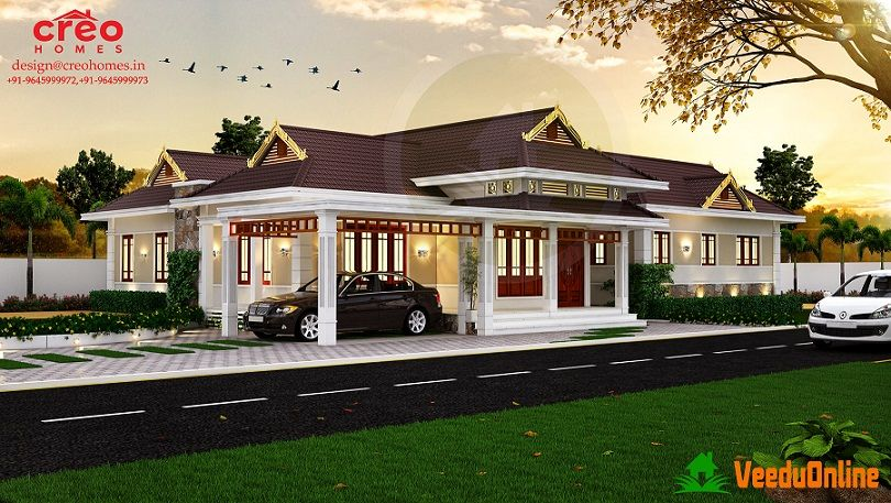 South Indian House Design With Kerala Traditional House Plans Collection Kerala Traditional House Indian Home Design Traditional House Plans