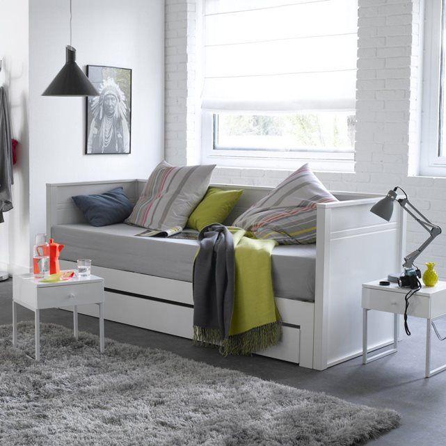 lit banquette extensible couchage double leeds ideas for the house pinterest lit. Black Bedroom Furniture Sets. Home Design Ideas