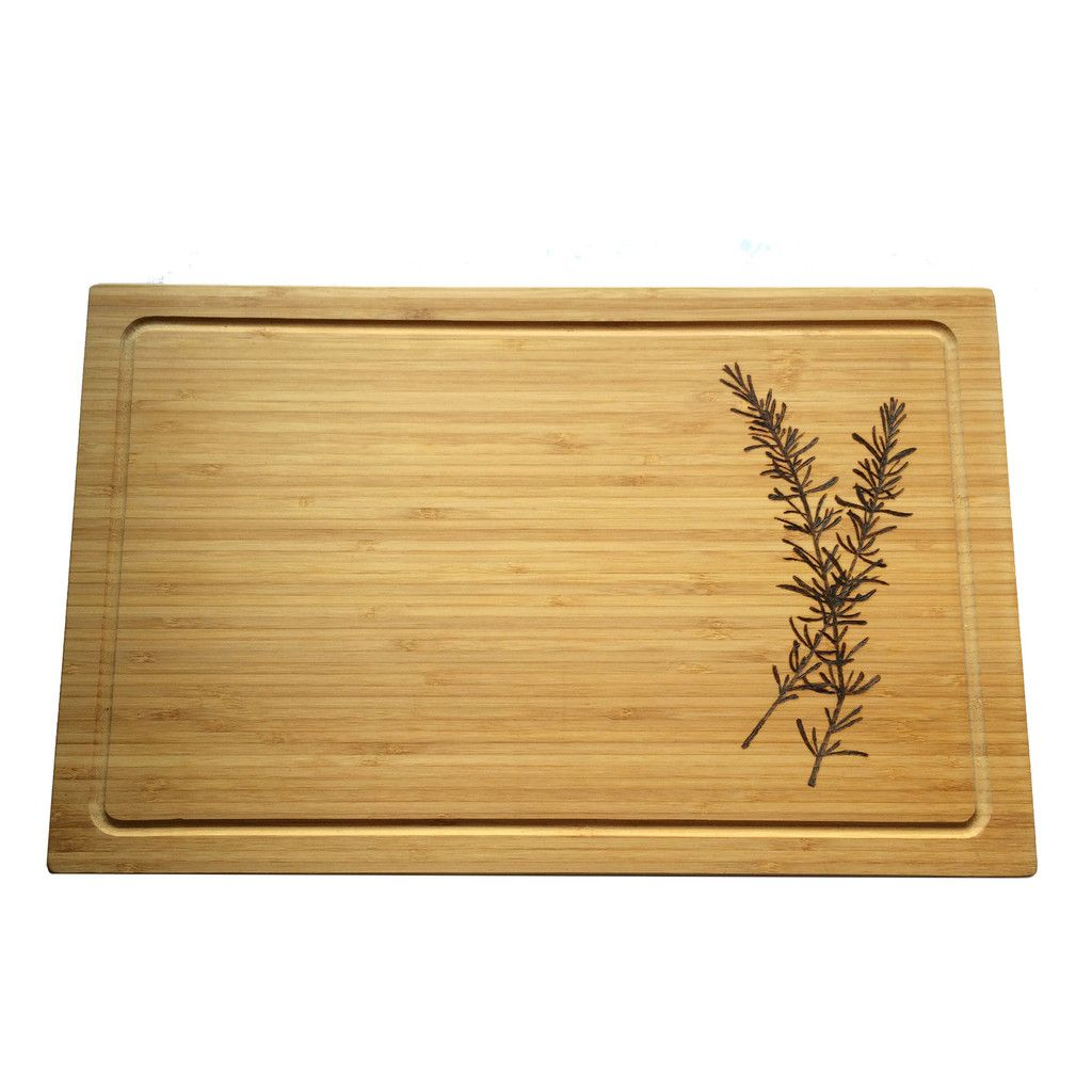 Make your cheese plate simply stunning diy wood slice cutting board - Rosemary Cutting Board Cheese Board Pyrography Wood Burning