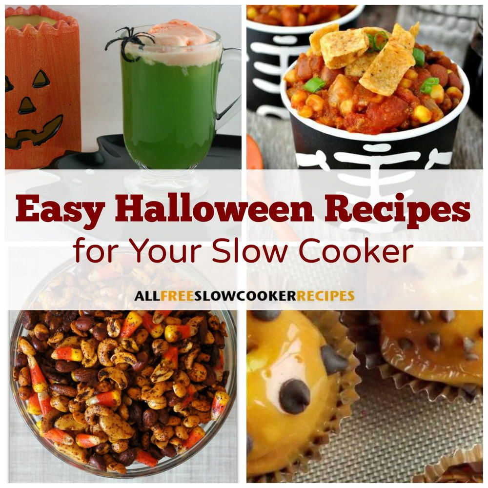 20 Easy Halloween Recipes For Your Slow Cooker Easy Halloween