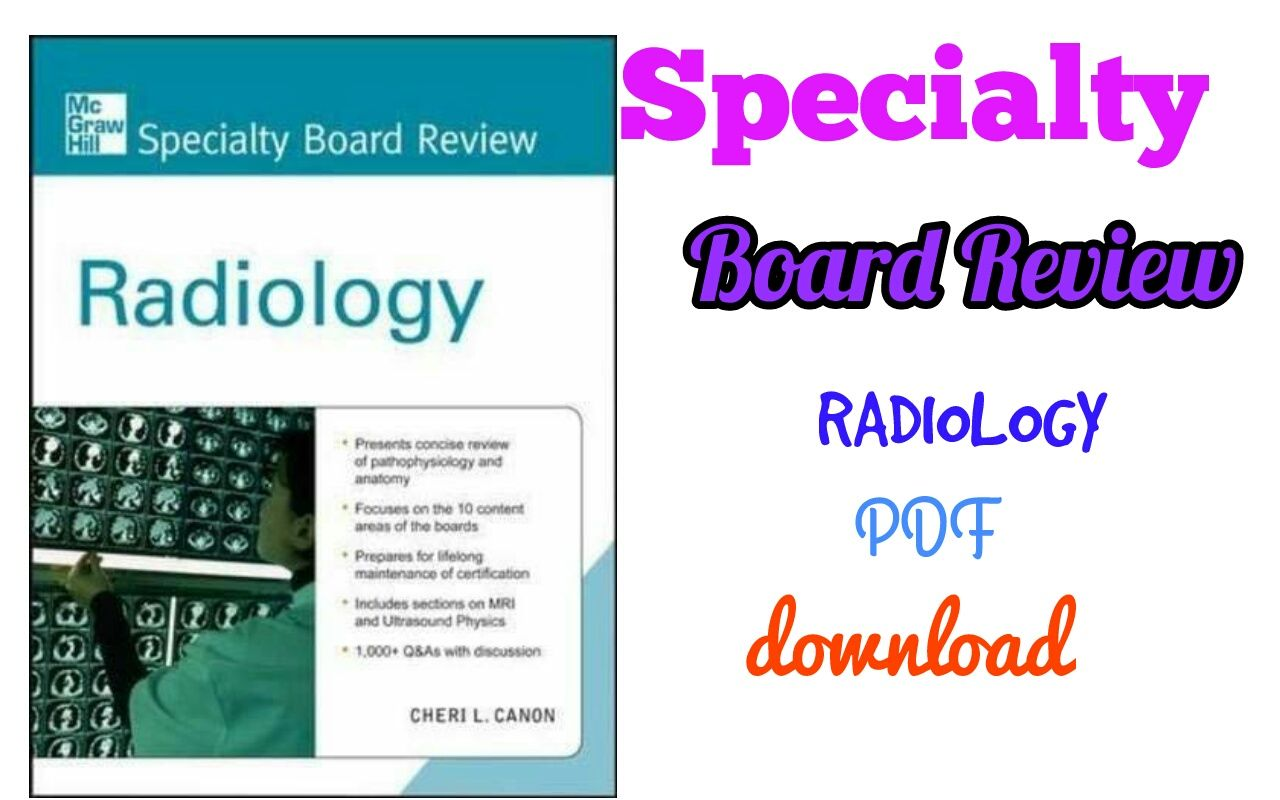 McGrawHill Specialty Board Review Radiology First