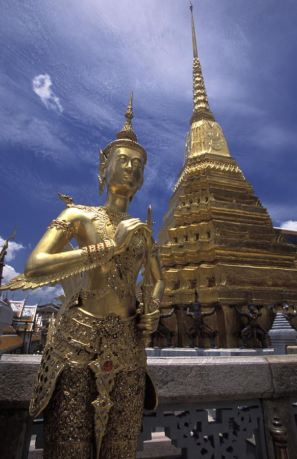 The grounds of the Grand Palace, Bangkok, Thailand