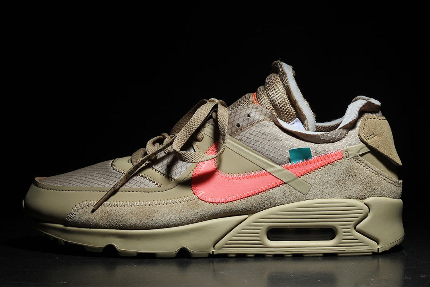 "official photos ff828 31a2d OFF-WHITE x Nike Air Max 90 ""Desert Ore"""