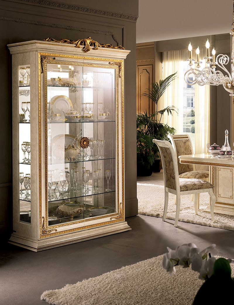 Leonardo Collection Dining Room Display Cabinet Arredoclassic