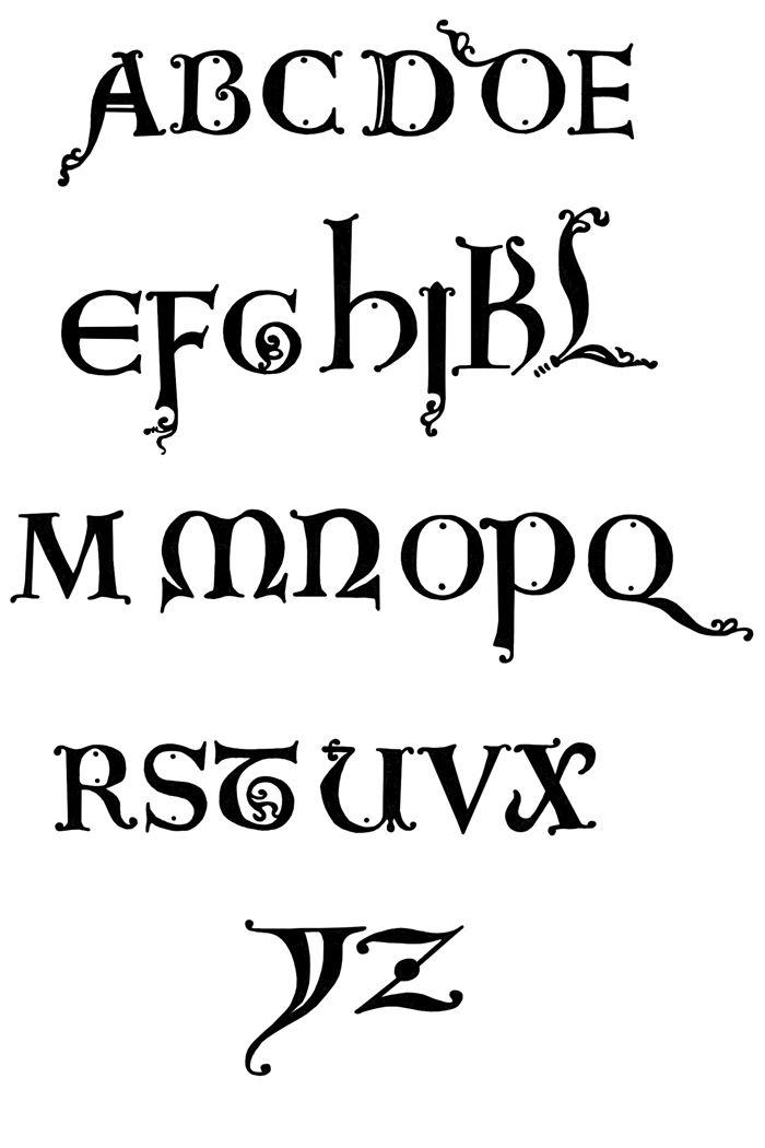 Old english letters abcs 1 2 3s tekstversieringen lettering old english letters a to z altavistaventures Gallery