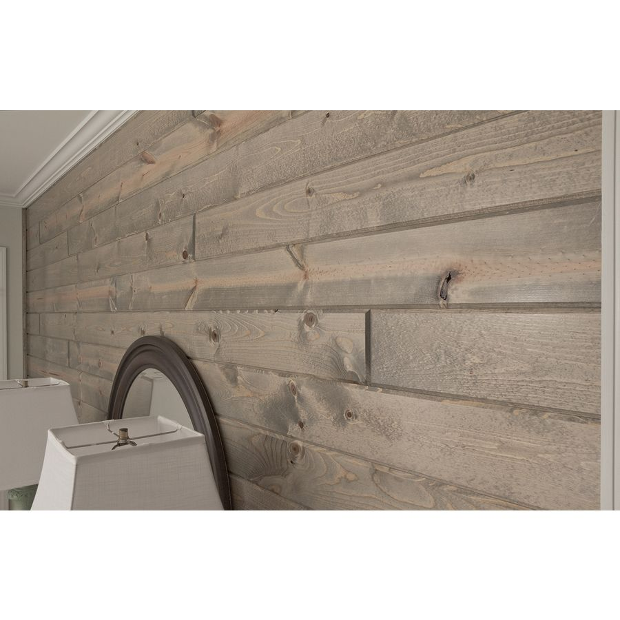 Tongue And Groove Pine Accent Wall: Shop Prefinished Wood Accents 5.375-in X 1-ft Currituck