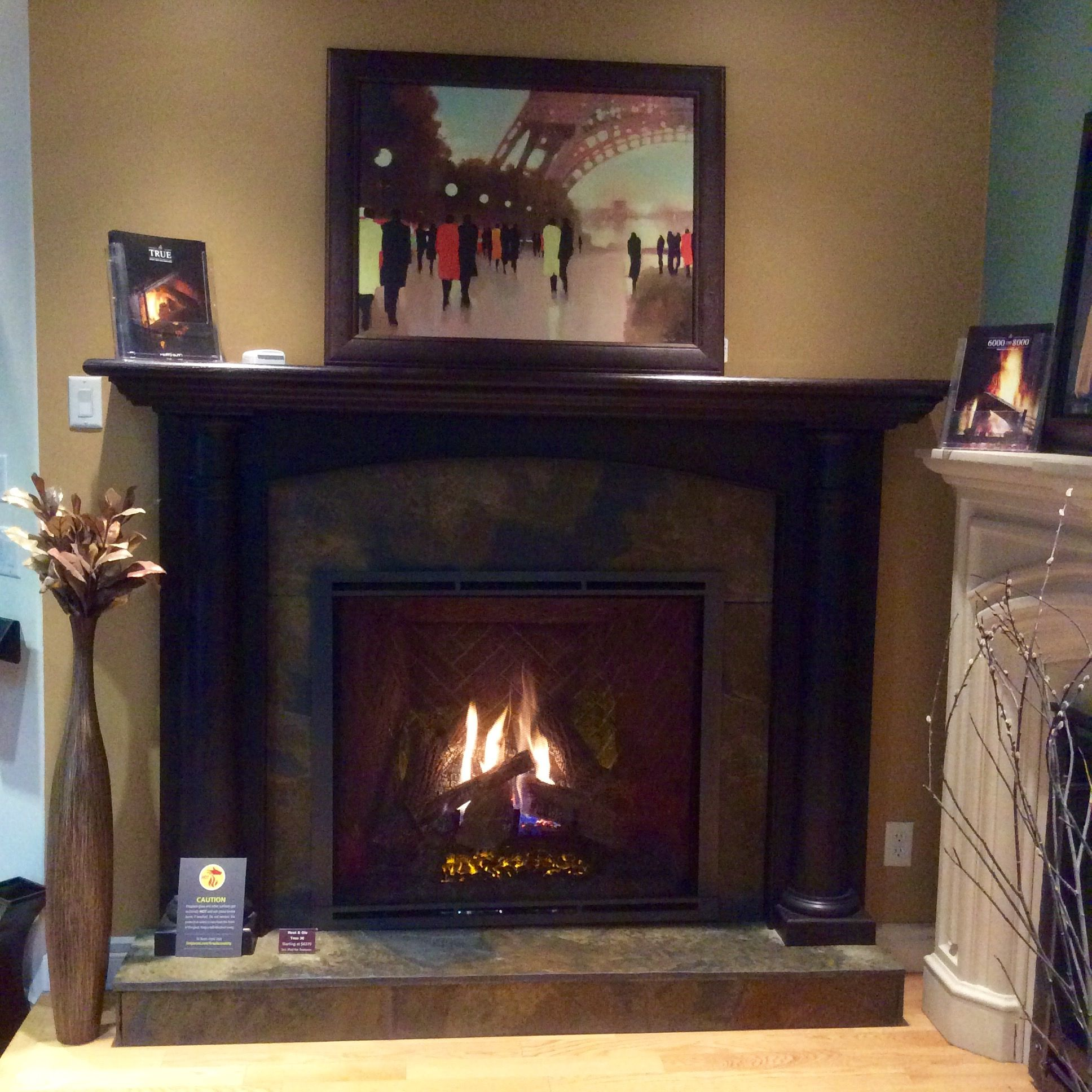 True Fireplace By Heat N Glo Brings You Everything You Need To A Very Traditional Home Yeg Traditional House