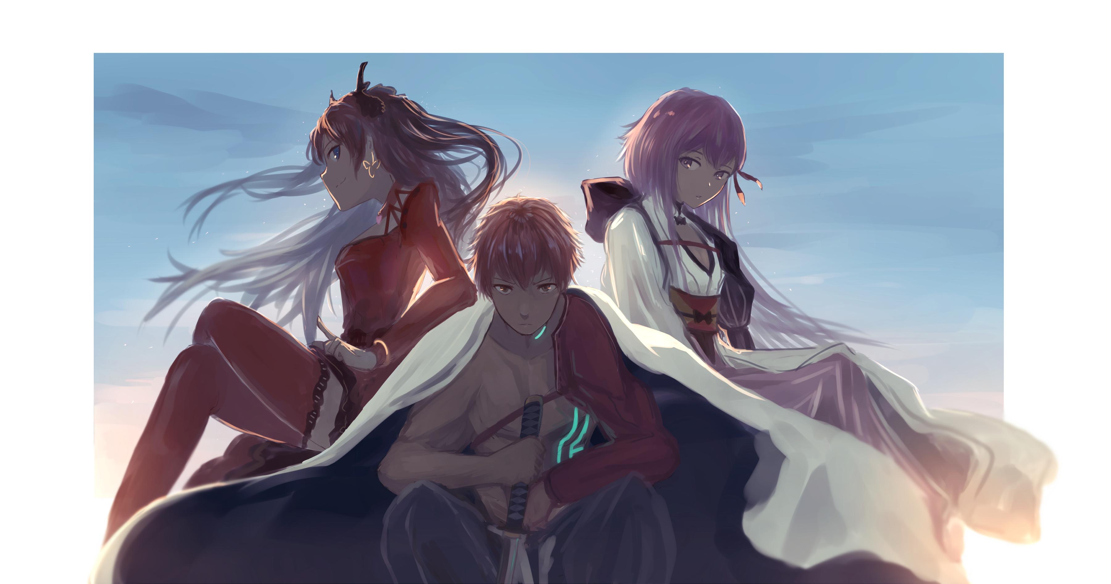 Shirou Emiya Rin Tohsaka Sakura Matou Fate Grand Order