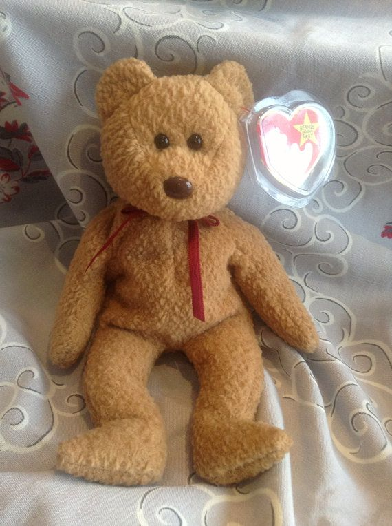 Original Rare 1996 Ty Curly Beanie Baby Mint Condition with tags ... 25e310b92f2