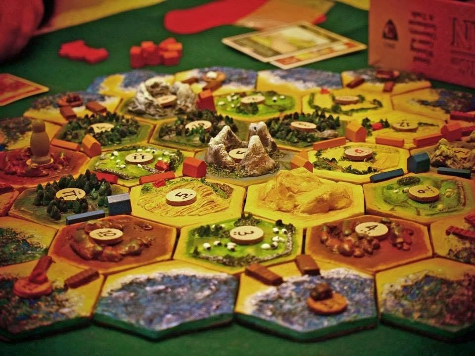 DIY 3D Settlers of Catan game board. (With images) Catan