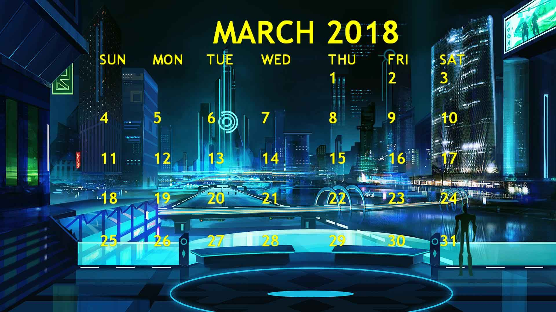 Calendar Wallpaper Originals : March calendar wallpaper wallpapers