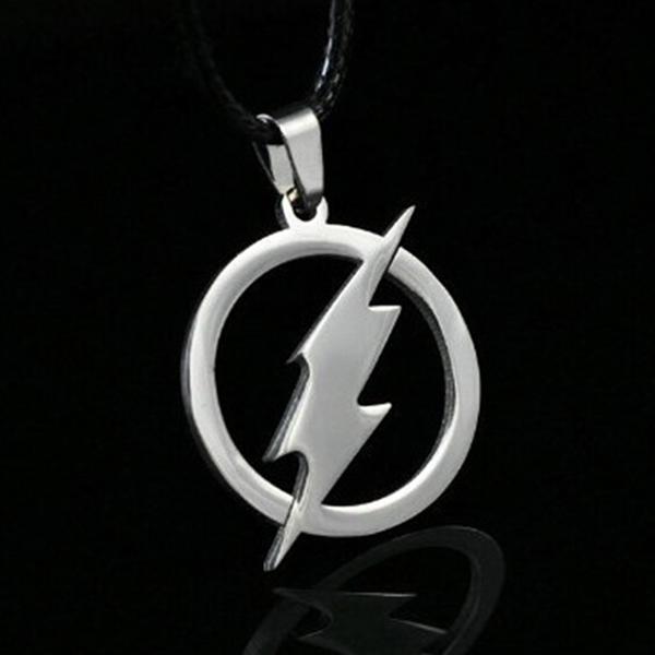DC Comics The Flash Superhero Necklace