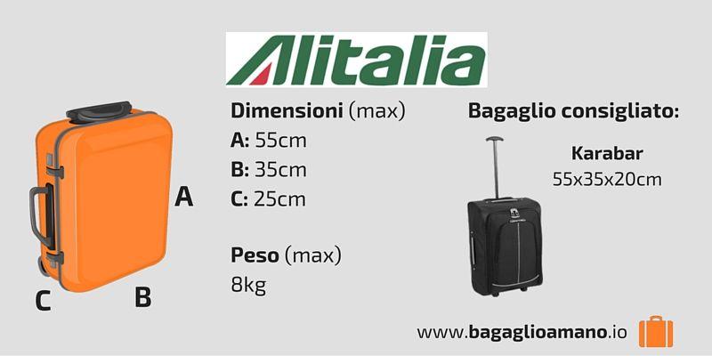 sulle immagini di piedi di nuova versione scegli originale Guida al Bagaglio a Mano Alitalia | Travelling | Backpacks ...