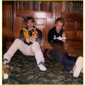 Photos of rupert grint tom outsiders 01 | Rupert Grint & Tom Felton Are A Band of Outsiders - Pics | Just Jared Jr.