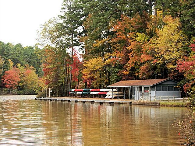 William B Umstead State Park, A North Carolina State Park Located Nearby  Apex, Cary