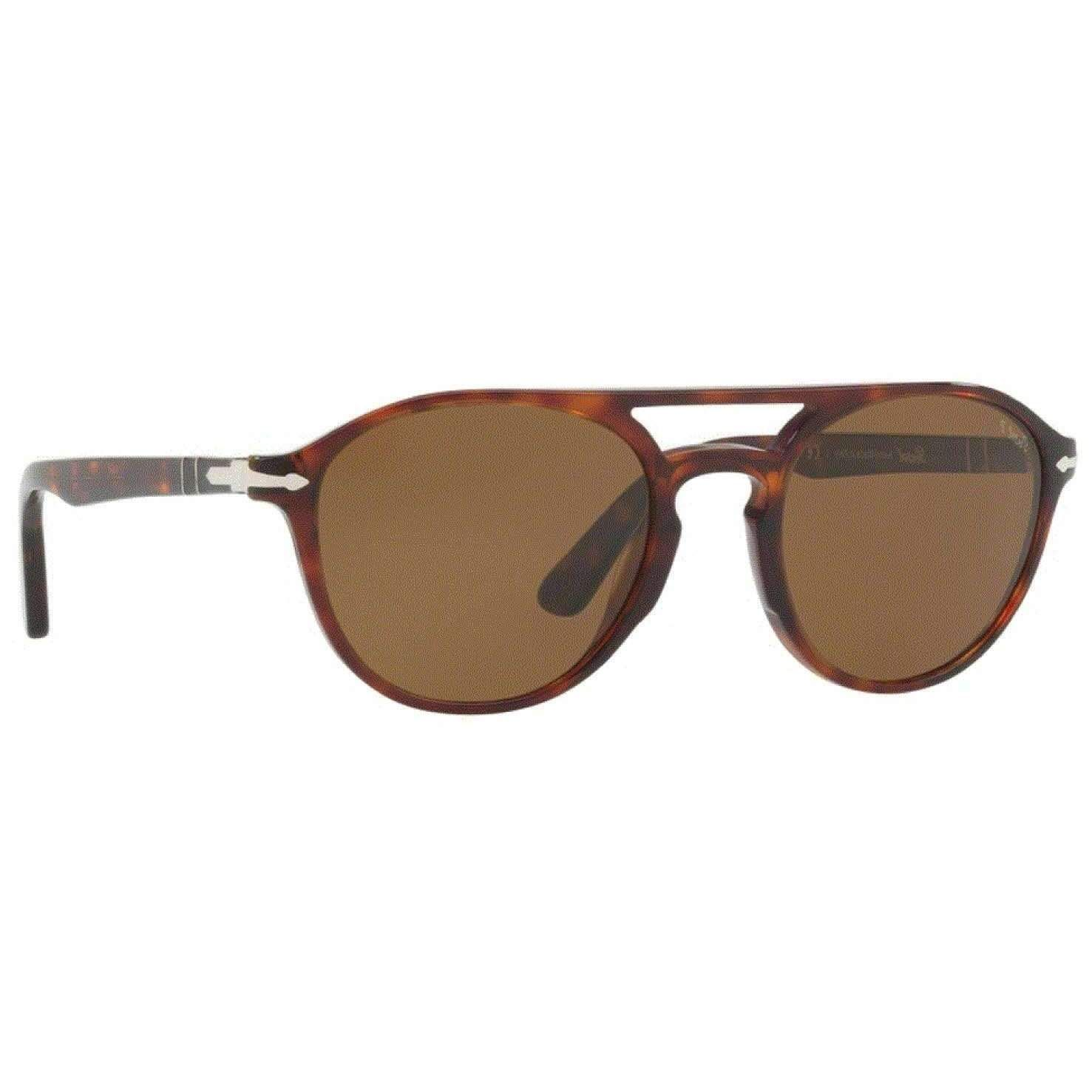 88d4acd3414 Persol 0PO3170S 901557 52 HAVANA POLARIZED BROWN GALLERIA Phantos Sunglasses   160