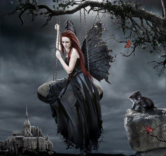Dark Fairy Wallpapers