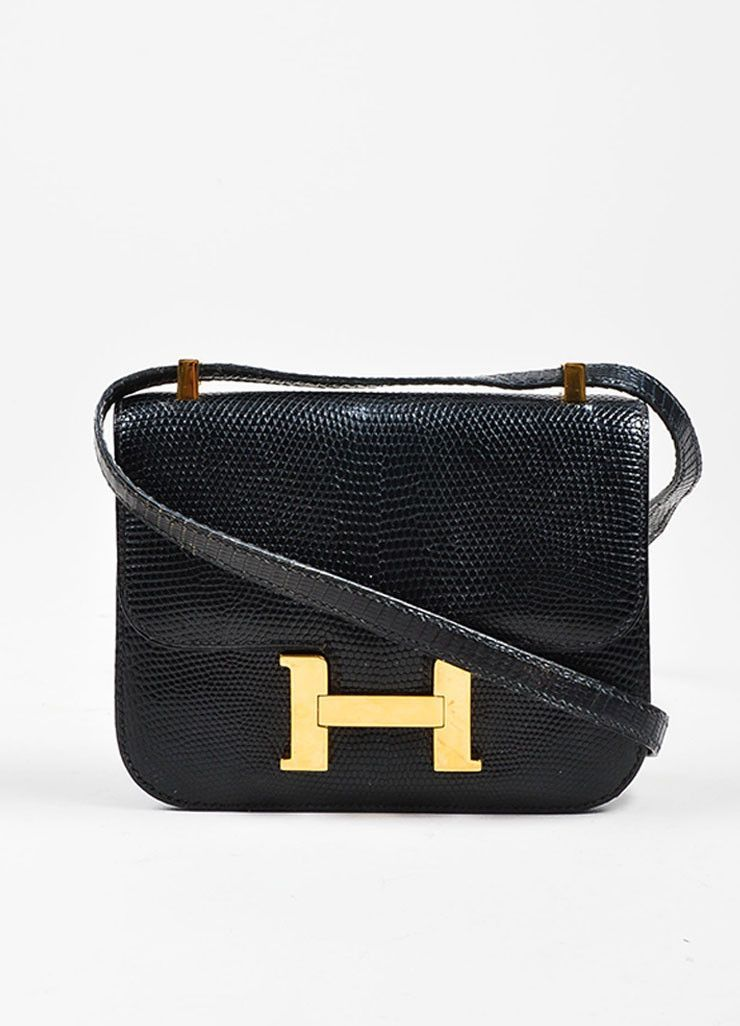 34784bc034a5 Black and Gold Toned Hermes